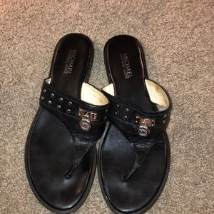 Black Michael Kors sandals size 11